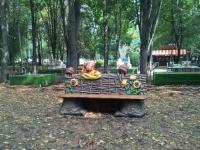скамейка с Любавой